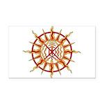 Native Spirit Art Rectangle Car Magnet