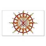 Native Spirit Art Sticker (Rectangle 50 pk)