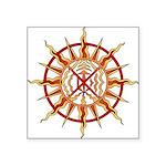 """Native Spirit Art Square Sticker 3"""" x 3"""""""