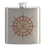 Native Spirit Art Flask