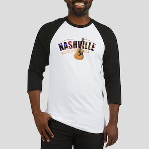 Nashville Music City USA Baseball Jersey