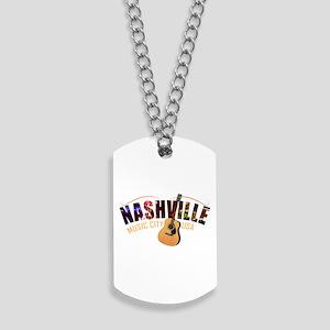 Nashville TN Music City USA Dog Tags