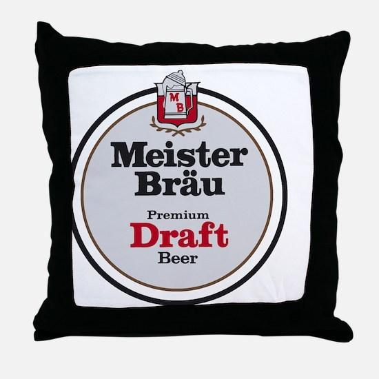 Funny Brew Throw Pillow