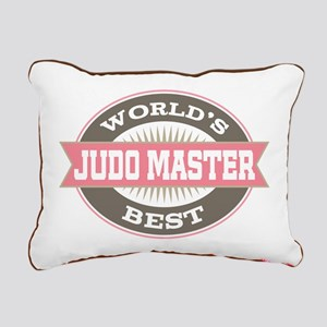 judo master Rectangular Canvas Pillow