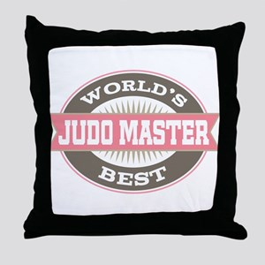 judo master Throw Pillow