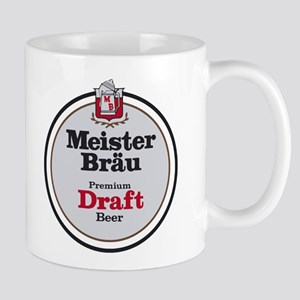 Meister Brau Beer Round logo Mugs