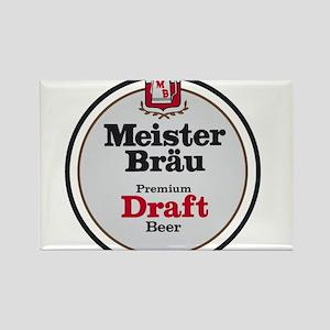 Meister Brau Beer Round logo Magnets