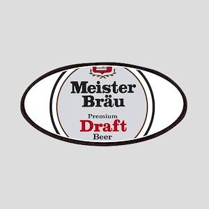 Meister Brau Beer Round logo Patch
