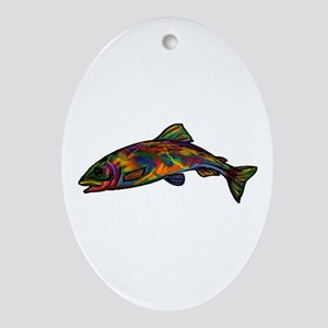 COLORS Oval Ornament