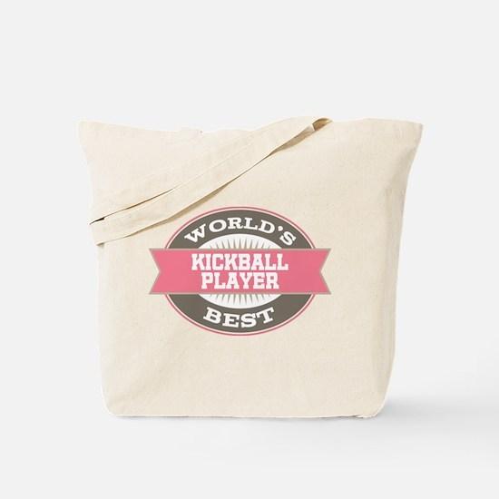 kickball player Tote Bag