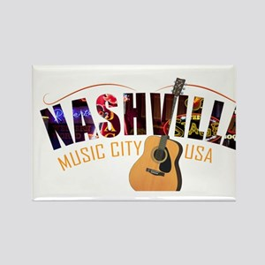 Nashville TN Music City USA Magnets