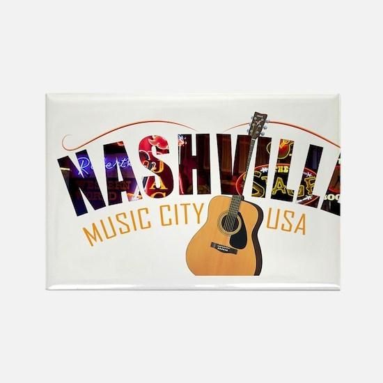 Nashville TN Music City USA Magnets
