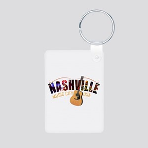 Nashville TN Music City USA Keychains