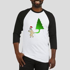 Tackiest Christmas Shirt Santa Far Baseball Jersey