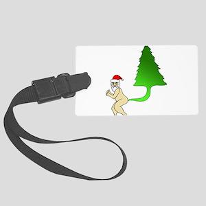 Tackiest Christmas Shirt Santa F Large Luggage Tag