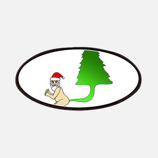 Tackiest Christmas Shirt Santa Farts a Tree Patch