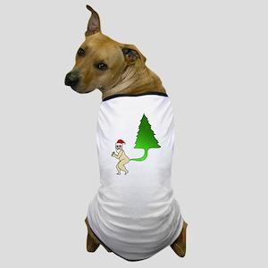 Tackiest Christmas Shirt Santa Farts a Dog T-Shirt