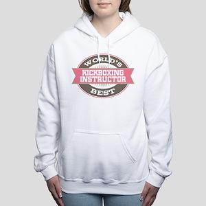 kickboxing instructor Women's Hooded Sweatshirt
