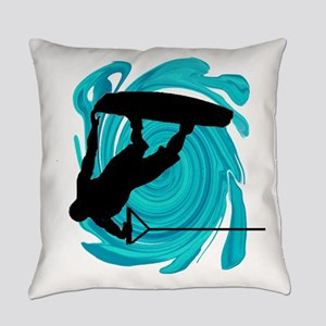 WAKEBOARD Everyday Pillow