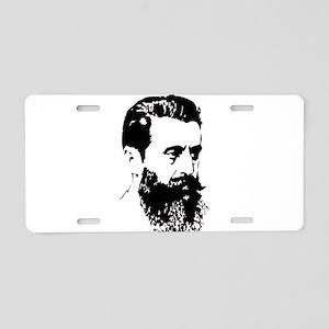 Theodor Herzl - Israel Sket Aluminum License Plate