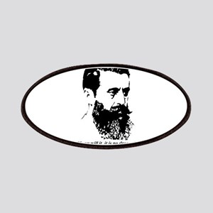 Theodor Herzl - Israel Quote Patch