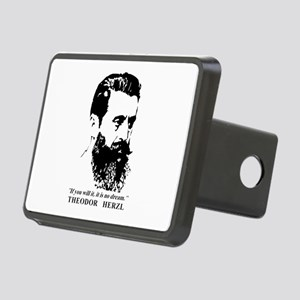 Theodor Herzl - Israel Quo Rectangular Hitch Cover