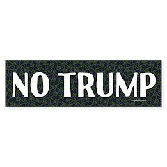 No Trump Bumper Bumper Sticker