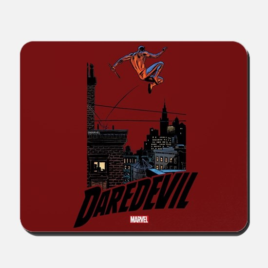 Daredevil Roof Jumping Mousepad
