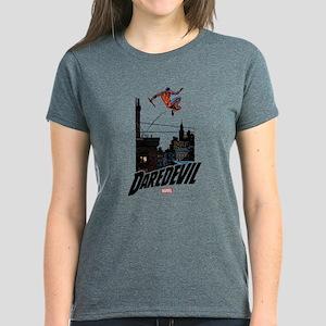 Daredevil Roof Jumping Women's Dark T-Shirt