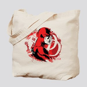 Daredevil Splatter Background Tote Bag