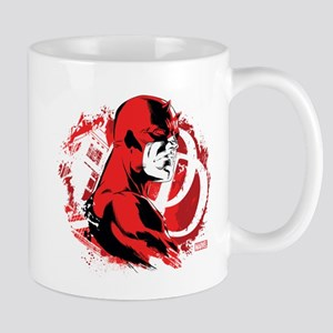 Daredevil Splatter Background Mug