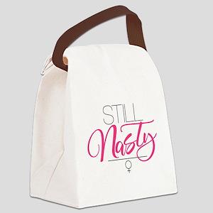 Still Nasty Canvas Lunch Bag