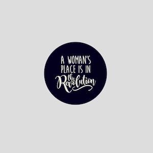 Womans Place in Revolution Mini Button