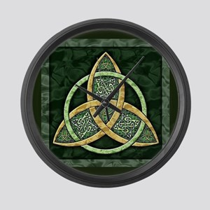 Triquetra Large Wall Clock