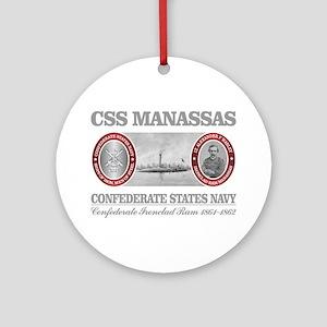 CSS Manassas (Warley) Round Ornament
