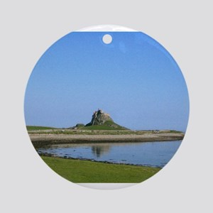 Holy Island Ornament (Round)