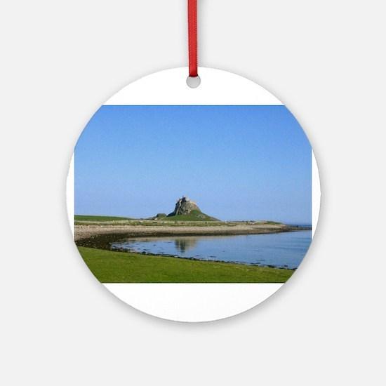 Holy Island Ornament (Round)