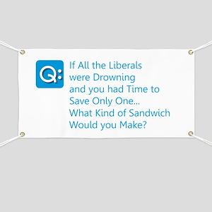 Liberal Sandwich Banner