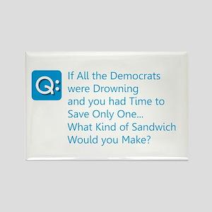 Democrat Sandwich Magnets