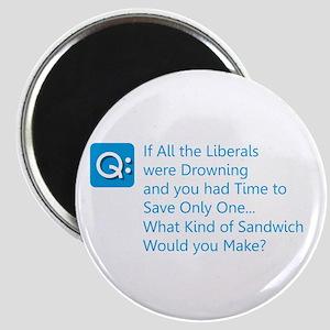 Liberal Sandwich Magnets