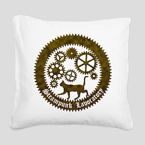 gearcat2 Square Canvas Pillow