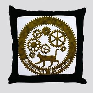 gearcat2 Throw Pillow