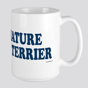 MINIATURE FOX TERRIER Large Mug