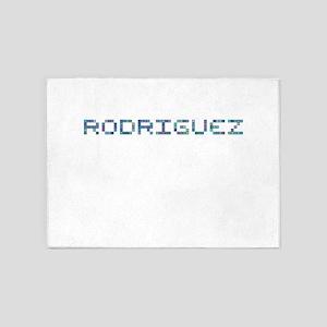 Rodriguez (Pixels) 5'x7'Area Rug