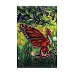 """Fairy Dragon"" Fairy Dragon Poster Dragon Print"