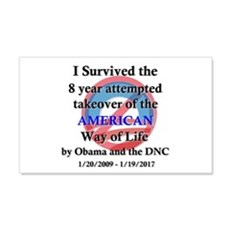 I Survived Obama Wall Sticker