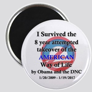 I Survived Obama Magnet