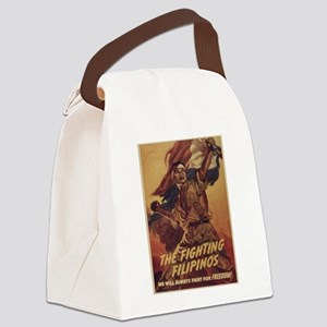 Vintage poster - The Fighting Fil Canvas Lunch Bag