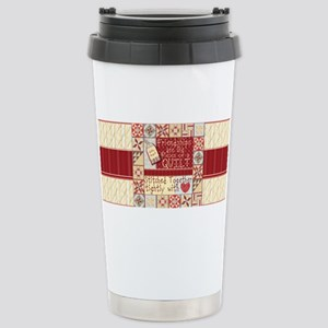 Friendship Quilts Stainless Steel Travel Mug