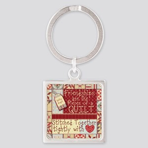 Friendship Quilt Keychains